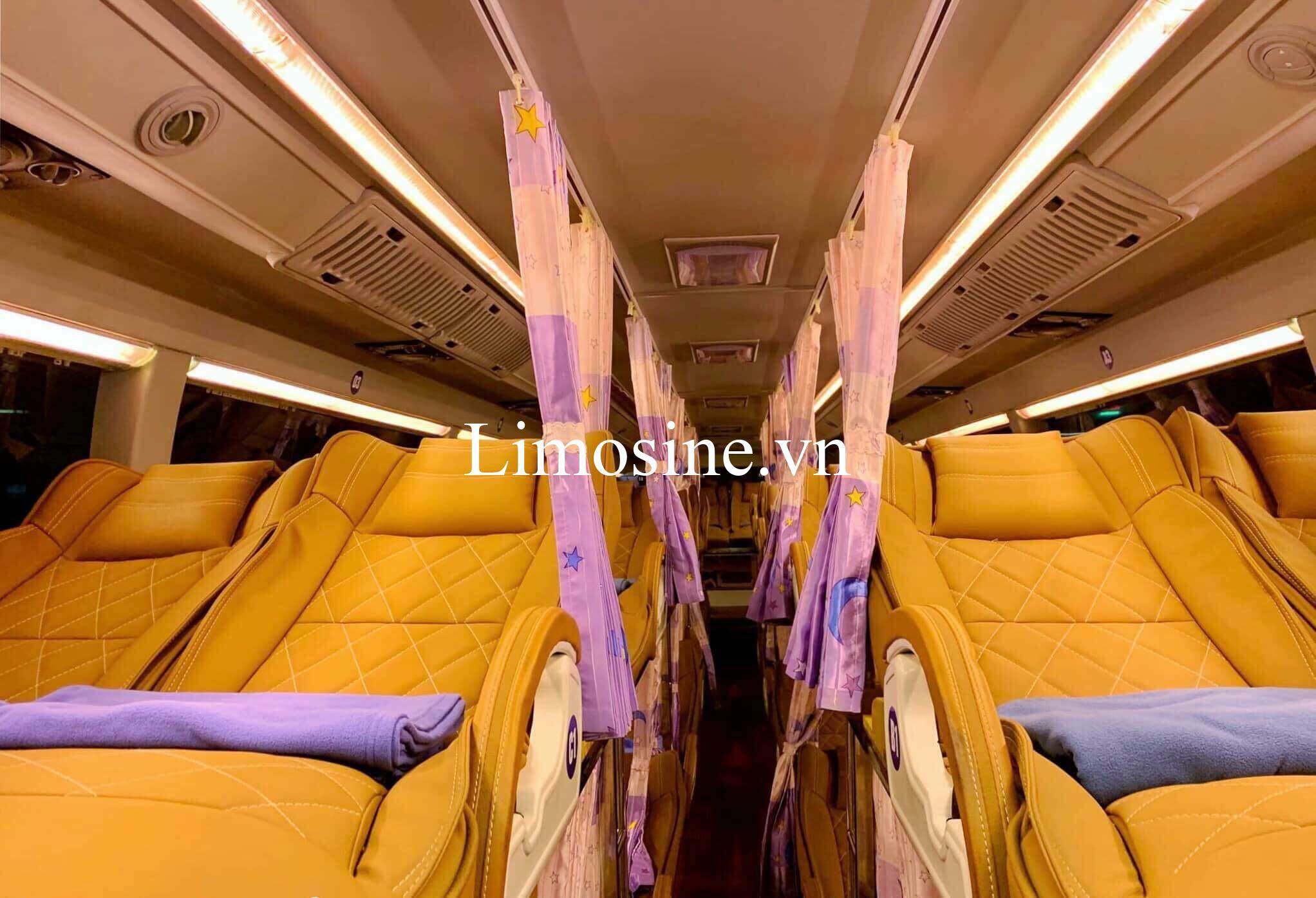 Top 10 Nhà xe Sài Gòn Thái Nguyên limousine giường nằm giá rẻ