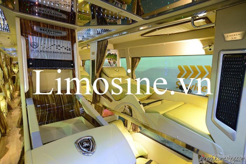 Top 20 Nhà xe đi Cần Thơ, xe limousine đi Cần Thơ Sài Gòn xe khách giường nằm