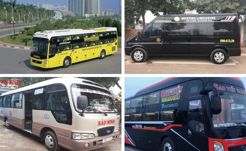 Top 14 Nhà xe đi Phú Thọ, xe khách Hà Nội Việt Trì limousine giường nằm