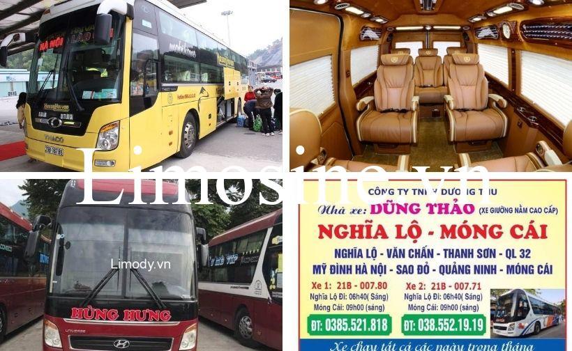 Top 13 Nhà xe đi Yên Bái, xe Hà Nội Yên Bái limousine giường nằm