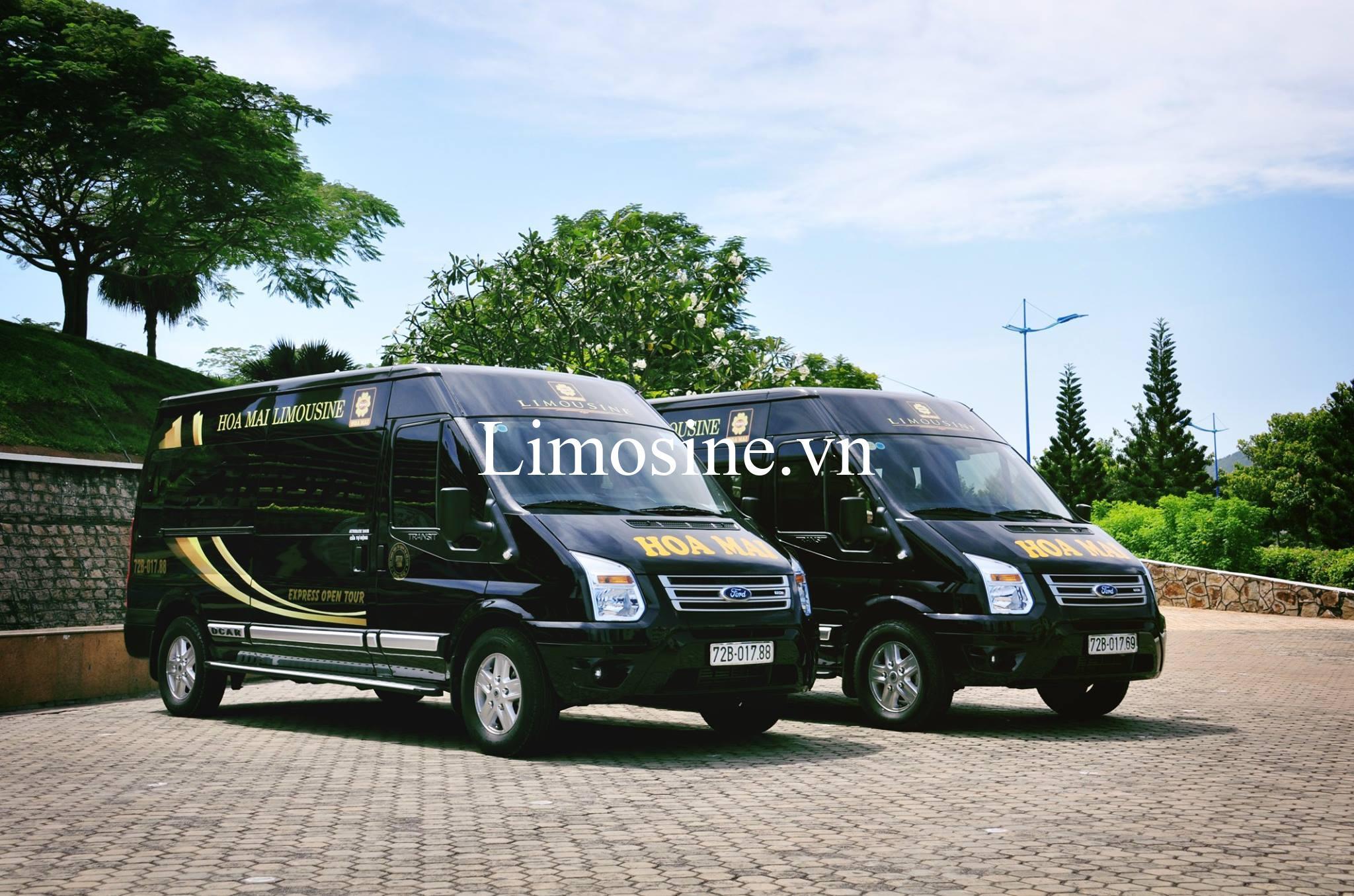 Xe Hoa Mai Limousine: Địa chỉ bến xe, giá vé, số điện thoại và lịch trình