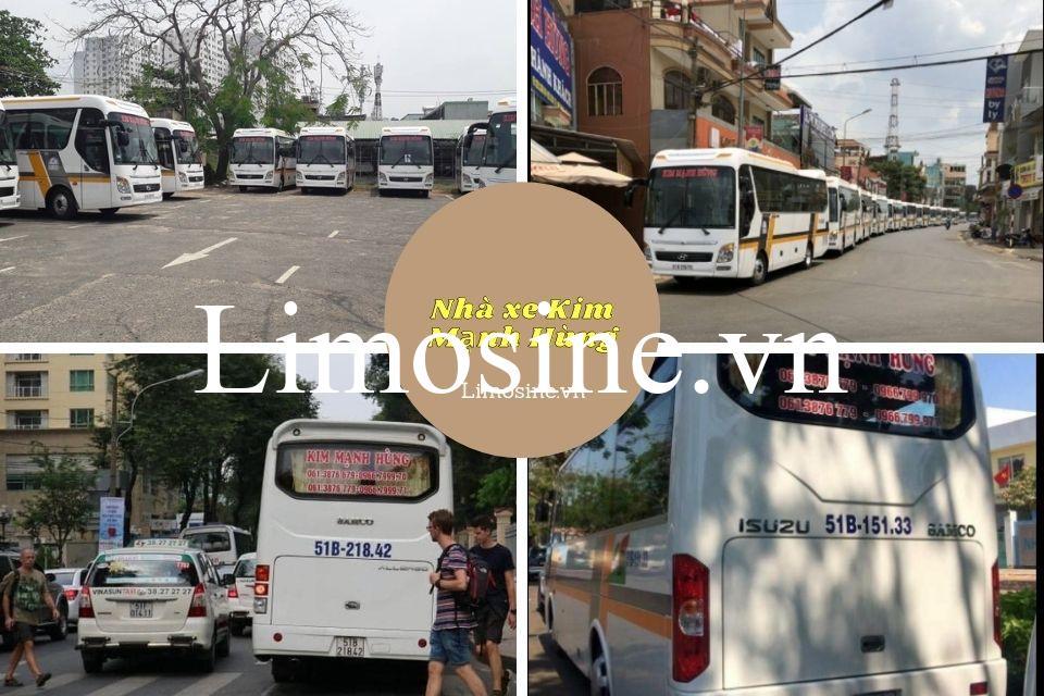 Nhà xe Kim Mạnh Hùng: Số điện thoại, giá vé, bến xe và lộ trình di chuyển