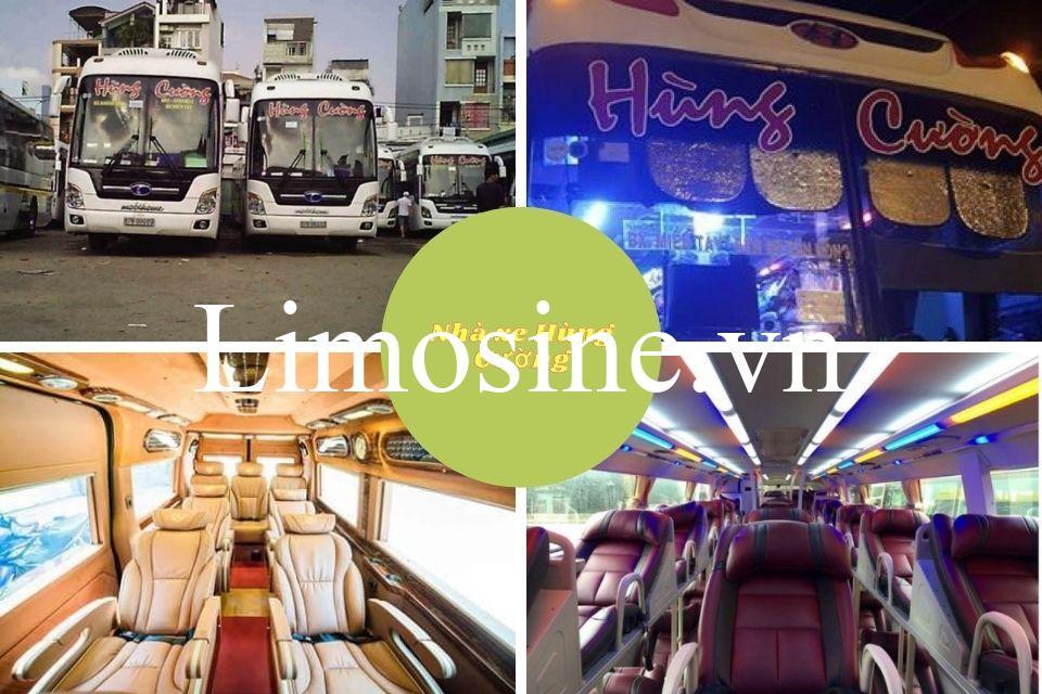 Xe Hùng Cường: Giá vé, số điện thoại hotline, bến xe và lịch trình chi tiết