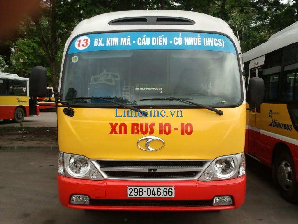 Danh sách, lộ trình 110 tuyến xe buýt Hà Nội - xe bus Hà Nội chi tiết nhất