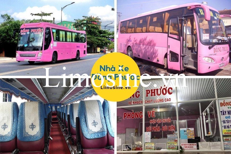 Xe Đồng Phước: Điện thoại, lịch trình di chuyển, giá vé và địa chỉ bến xe