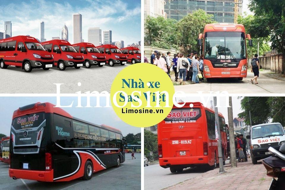 Nhà xe Sao Việt: Số điện thoại, lịch trình và giá vé, địa chỉ liên hệ chi tiết