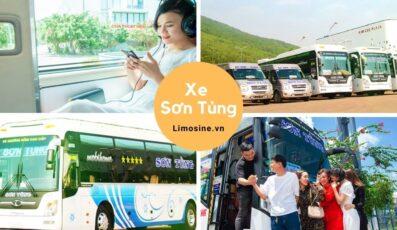 Nhà xe Sơn Tùng: Bến xe, giá vé, tuyến đường chạy, số điện thoại đặt vé