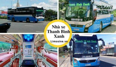 Xe Thanh Bình Xanh: Số điện thoại đặt vé, giá vé, địa chỉ bến xe và lịch trình