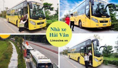 Xe Hải Vân: Số điện thoại đặt vé, lịch trình di chuyển, giá vé và địa chỉ liên hệ