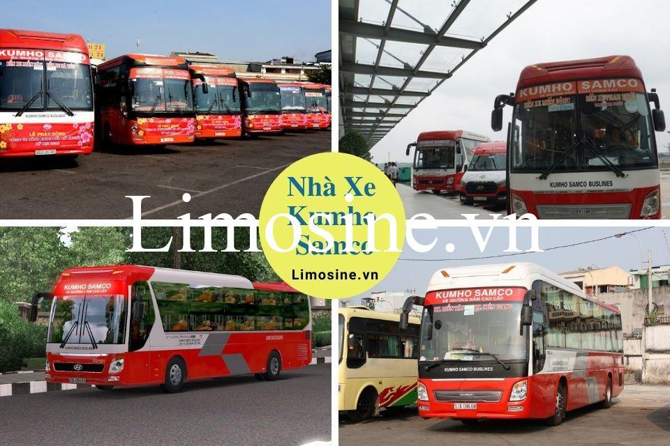 Xe Kumho Samco: Tổng đài điện thoại đặt vé, giá vé, bến xe và lộ trình