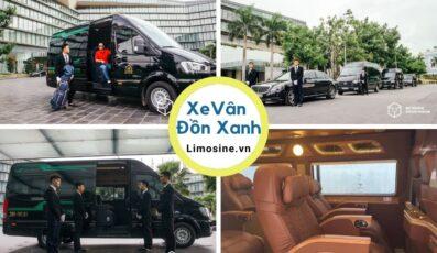 Xe Vân Đồn Xanh limousine: Bến xe, giá vé, số điện thoại và lịch di chuyển